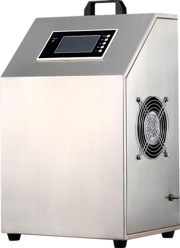 便捷移动式臭氧机配套PLC控制面板采用遥控控制的全智能10克臭氧发生器价格-广州市艾利普环保设备有限公司